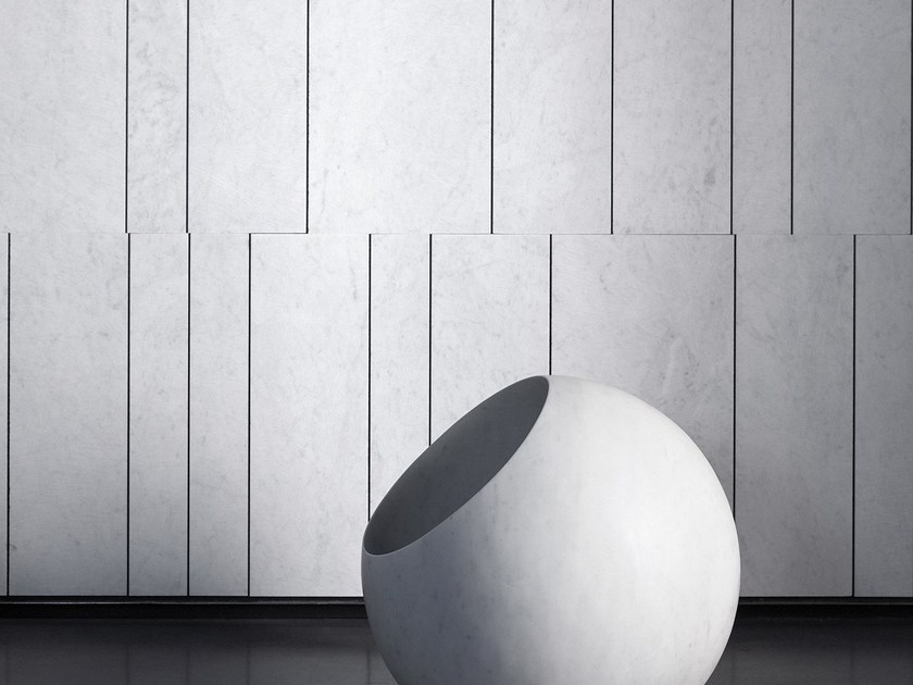 Indoor natural stone wall tiles TRATTI by SALVATORI