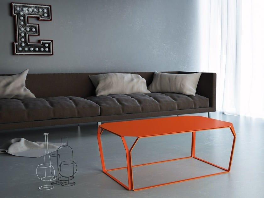Metal coffee table TRAY 3 | Metal coffee table - MEME DESIGN