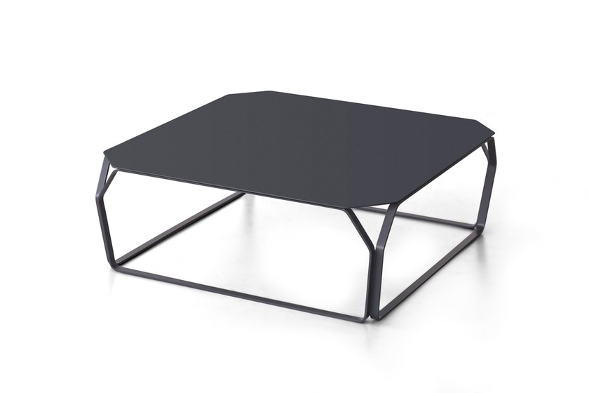 Low metal coffee table TRAY 2 | Metal coffee table - MEME DESIGN