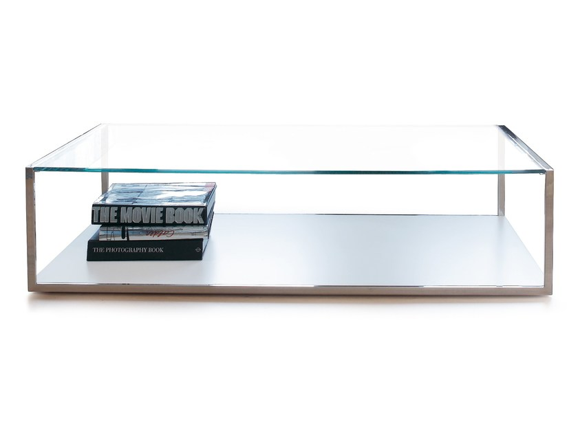 Glass coffee table TRAZO by SANCAL