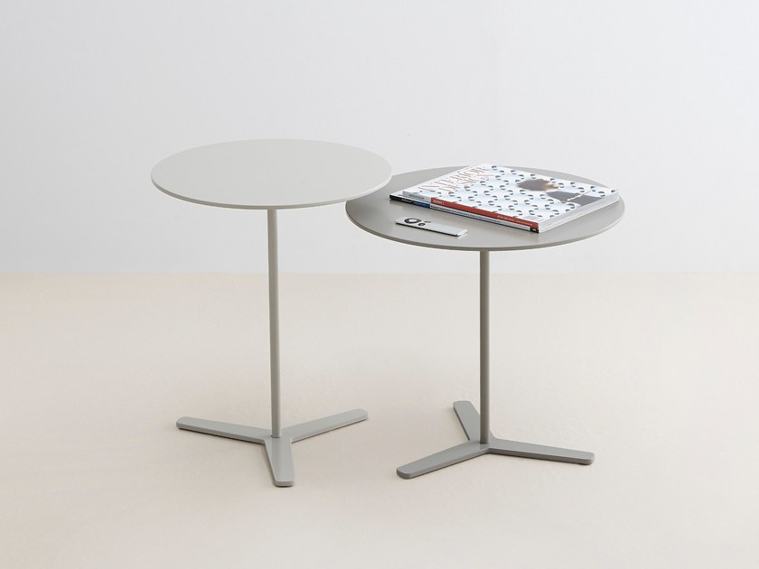 Round MDF coffee table TRE - MOX