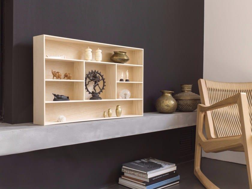 Modular ash bookcase TREASURE BOX - Schönbuch