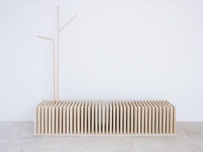 Plywood coat rack TREE IN THE MEADOW | Coat rack - Planbureau