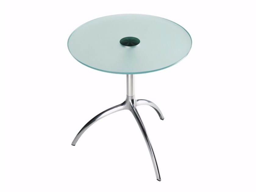 Height-adjustable round coffee table TREE TABLE - 950 - Alias