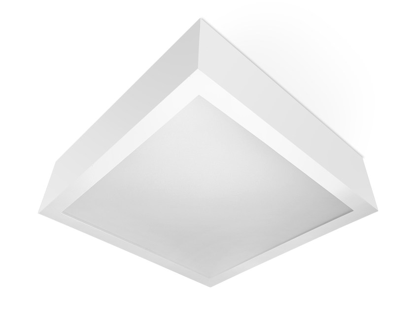 LED polycarbonate ceiling light TREM C - LED BCN Lighting Solutions