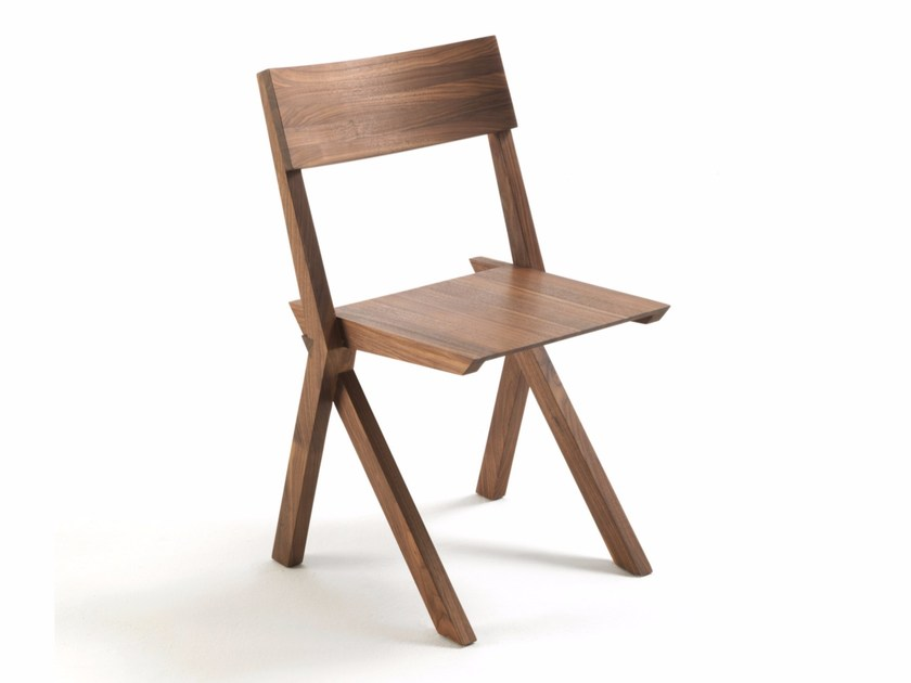 Solid wood chair TREMENDA - Riva 1920