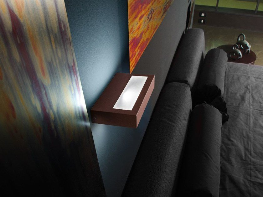 LED direct-indirect light wall lamp TREND FLAT UP&DOWN 200 - Lombardo