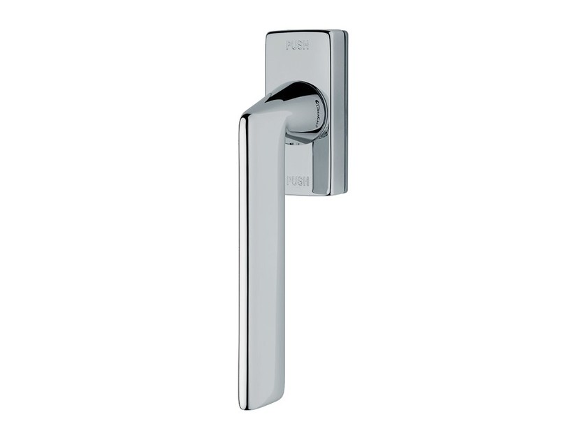 Contemporary style anti-intrusion DK brass window handle TRENDY | Anti-intrusion window handle - LINEA CALI'
