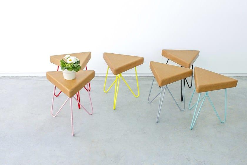 Low cork stool TRES - Galula