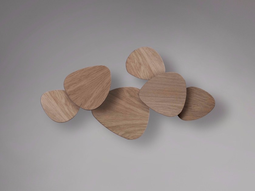 LED beech wall light TRIA SET 6 - BOVER Il. Luminació & Mobiliario