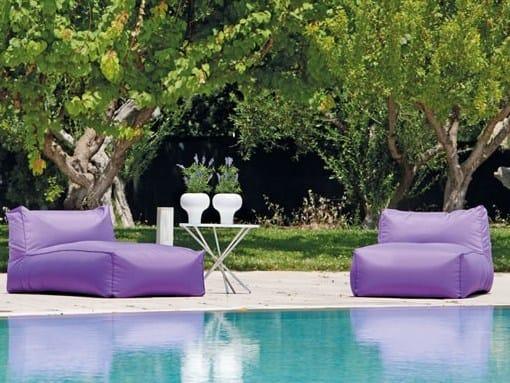 Fabric garden daybed TRIBÙ | Garden daybed - Delta Salotti