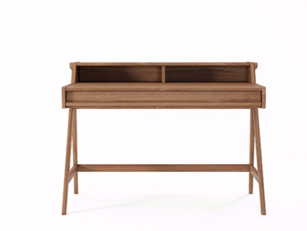 Teak secretary desk TRIBUTE TB01-T - KARPENTER