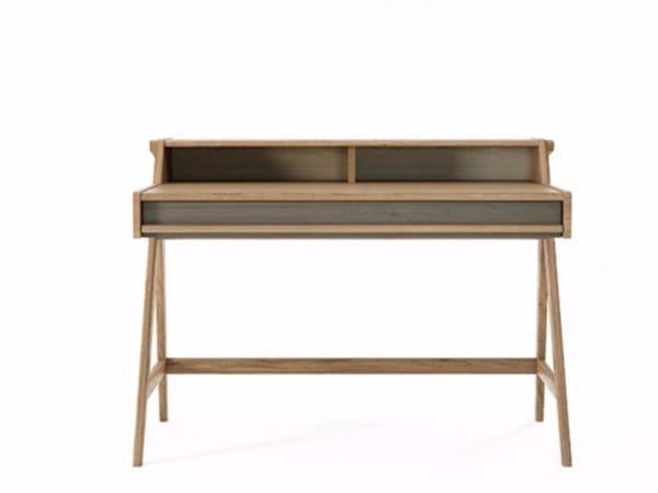 Oak secretary desk TRIBUTE TB01-O by KARPENTER