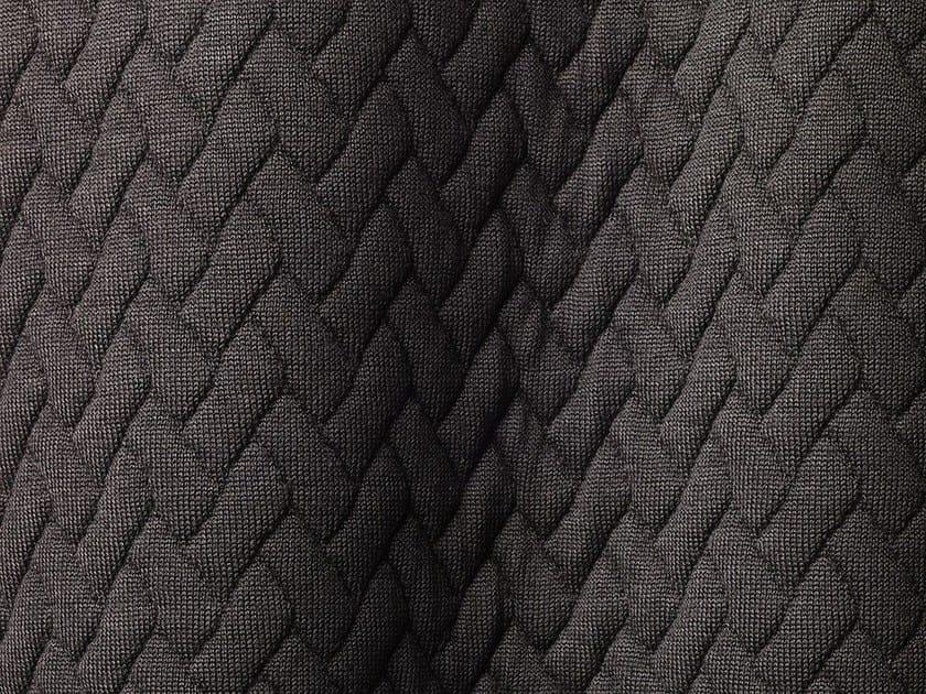 Solid-color Outdoor synthetic fibre fabric TRICOT TRESSAGE by Dedar