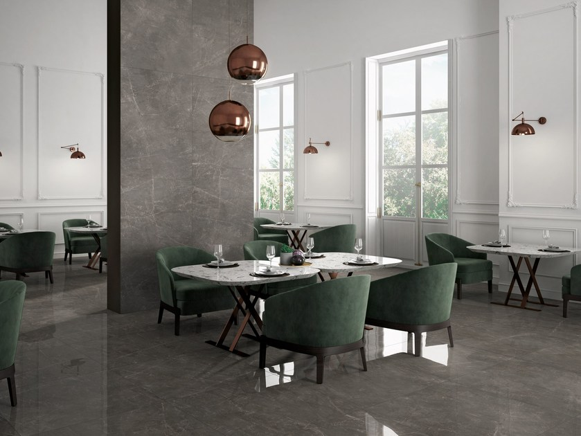 Porcelain stoneware wall tiles / flooring TRILOGY by Panaria Ceramica