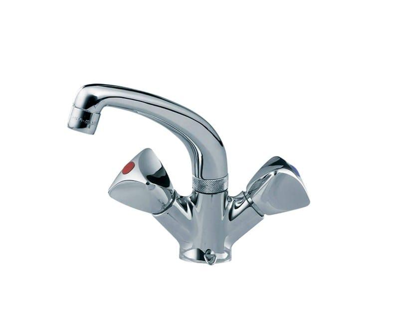 Countertop 1 hole kitchen mixer tap TRIO | Kitchen mixer tap by rvb