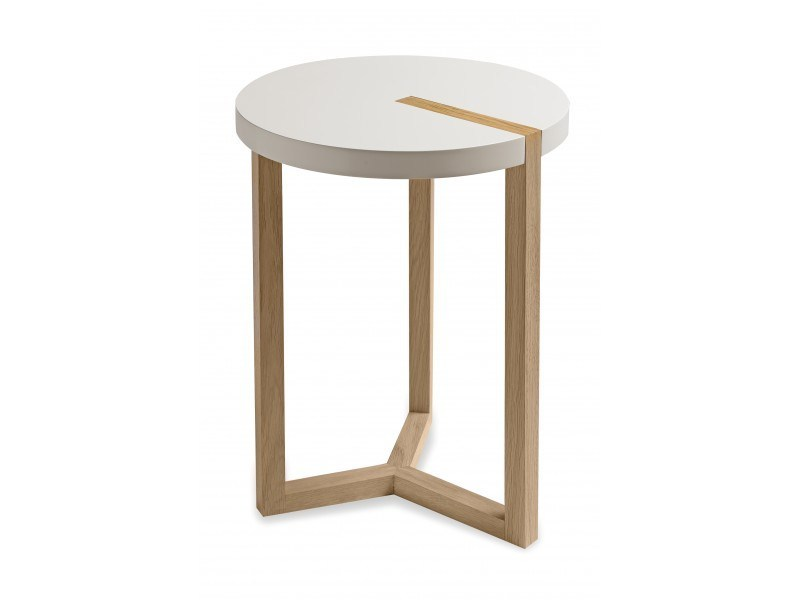 Round MDF side table TRIOLET | Side table - Canapés Duvivier