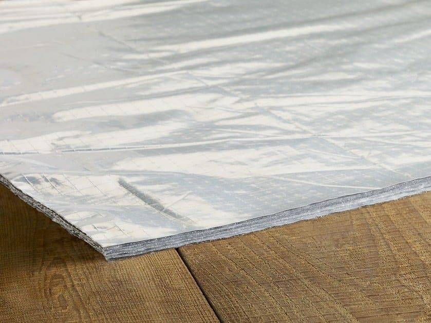Isolante termoriflettente per pavimenti radianti
