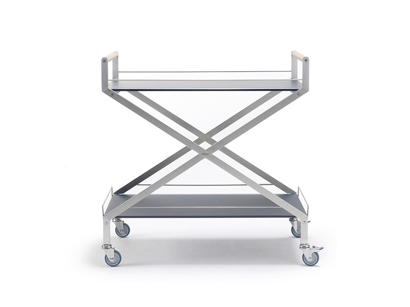 Stainless steel drinks trolley TROLLEY ONE - solpuri