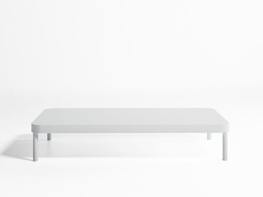 Rectangular garden side table TROPEZ   Rectangular coffee table - GANDIA BLASCO