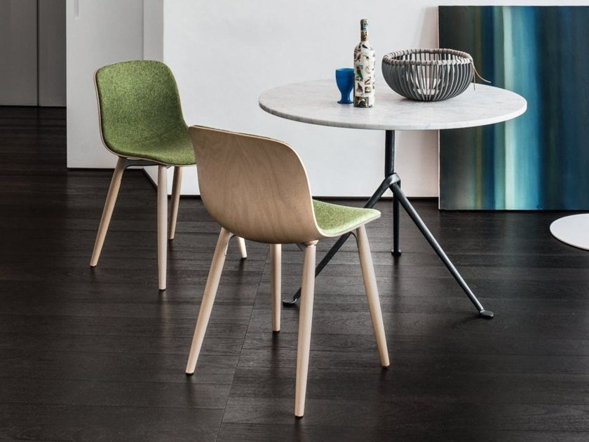Chair with covered in Kvadrat TROY | Chair - Magis