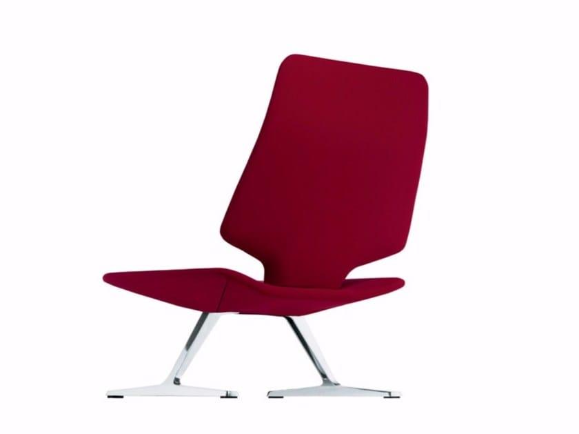 High-back armchair TT1 HIGH - 628 - Alias