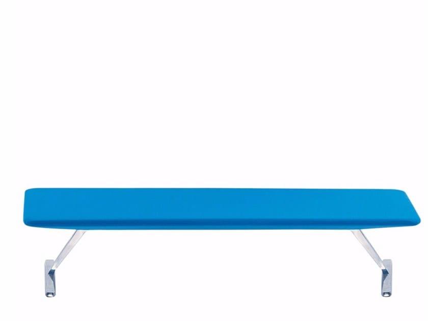 Upholstered bench TT3 FLAT - 646 - Alias
