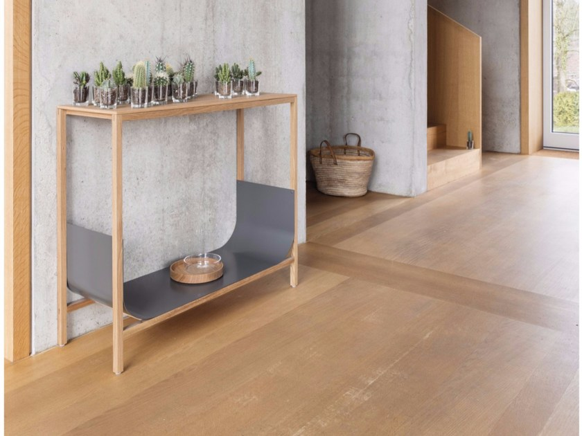 Rectangular solid wood console table TUB | Console table - Schönbuch