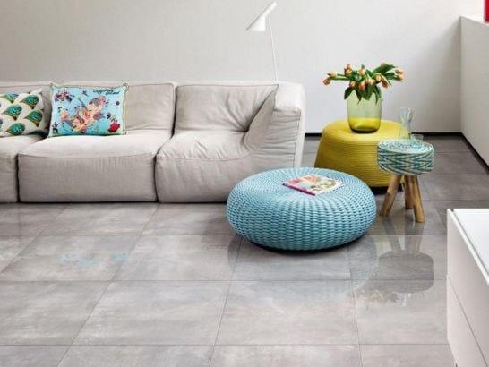 Flooring with stone effect TUBADZIN PODŁOGI - TUBADZIN