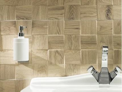 Porcelain stoneware 3D Wall Cladding TUBADZIN ROYAL PLACE | 3D Wall Cladding - TUBADZIN