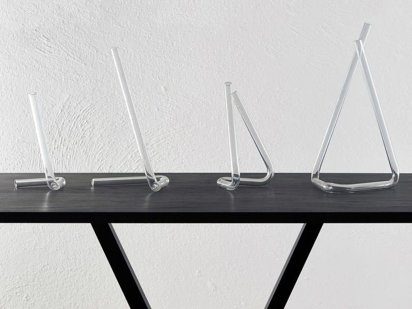 Borosilicate glass vase TUBE by Atipico