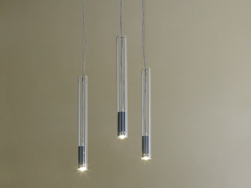 LED pendant lamp TUBO LED - FontanaArte