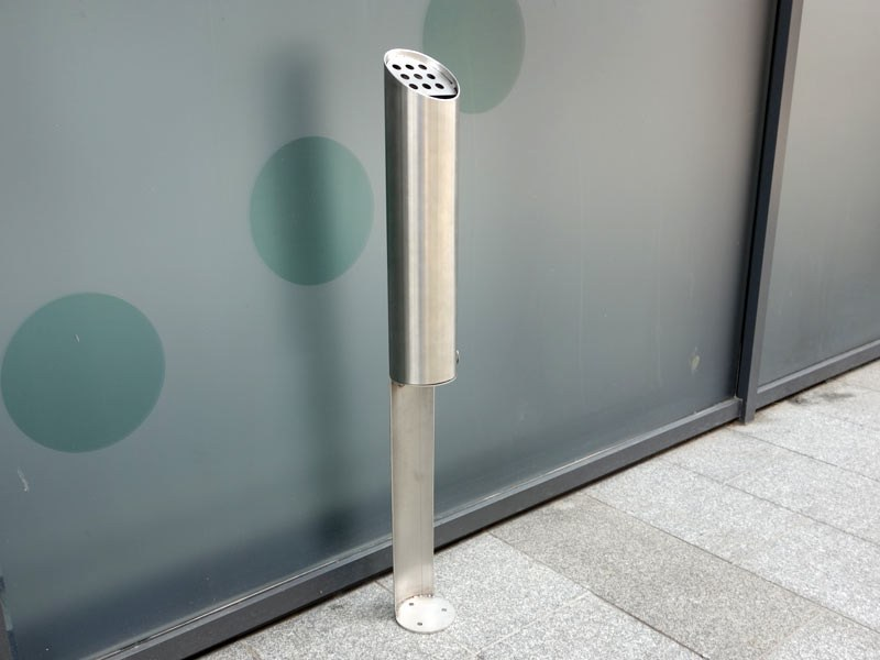 Steel ashtray TUBO P - Tubo / ZZ Concept