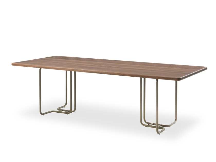 Rectangular dining table TUBULAR | Table by Riva 1920