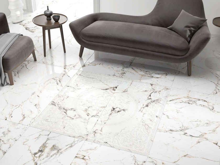 Porcelain stoneware wall tiles / flooring TUCCI by Museum