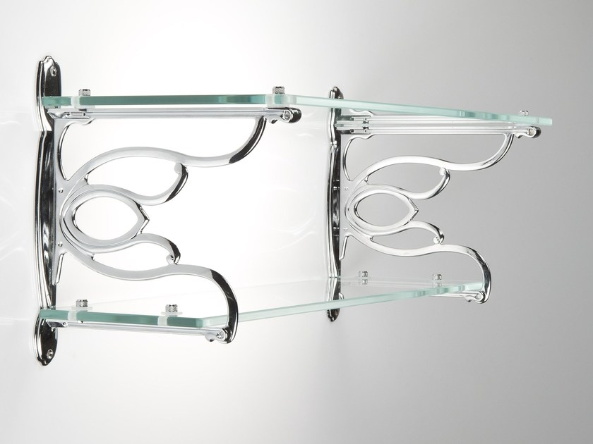 Glass wall shelf TULIP by Citterio Giulio