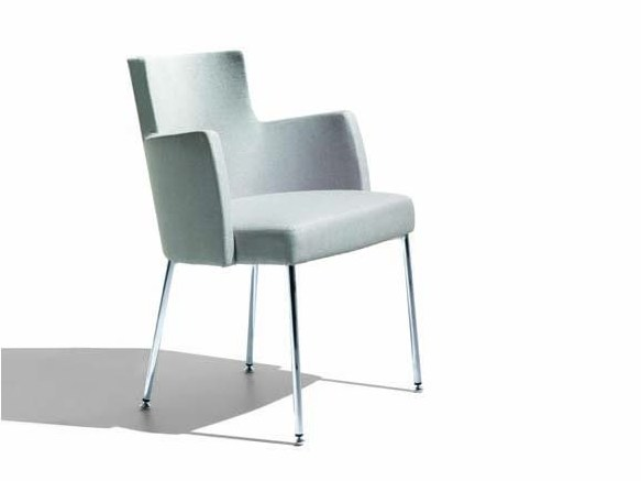 Upholstered easy chair TURNÈ | Easy chair - Potocco