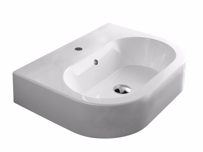 Wall-mounted washbasin TUTTO EVO | Wall-mounted washbasin by Olympia Ceramica