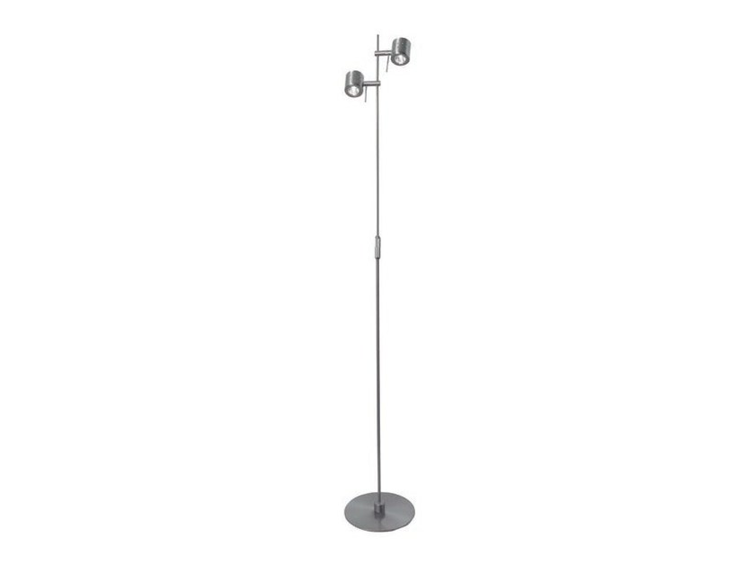 Adjustable metal floor lamp with dimmer TUTU | Adjustable floor lamp by Aromas del Campo