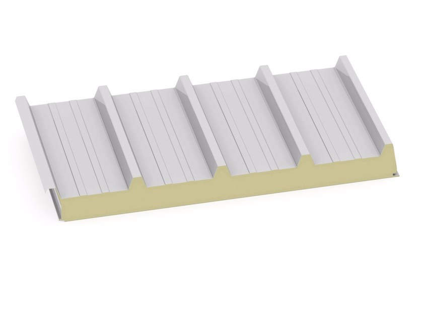 Insulated metal panel for roof TW5-F - Marcegaglia Buildtech