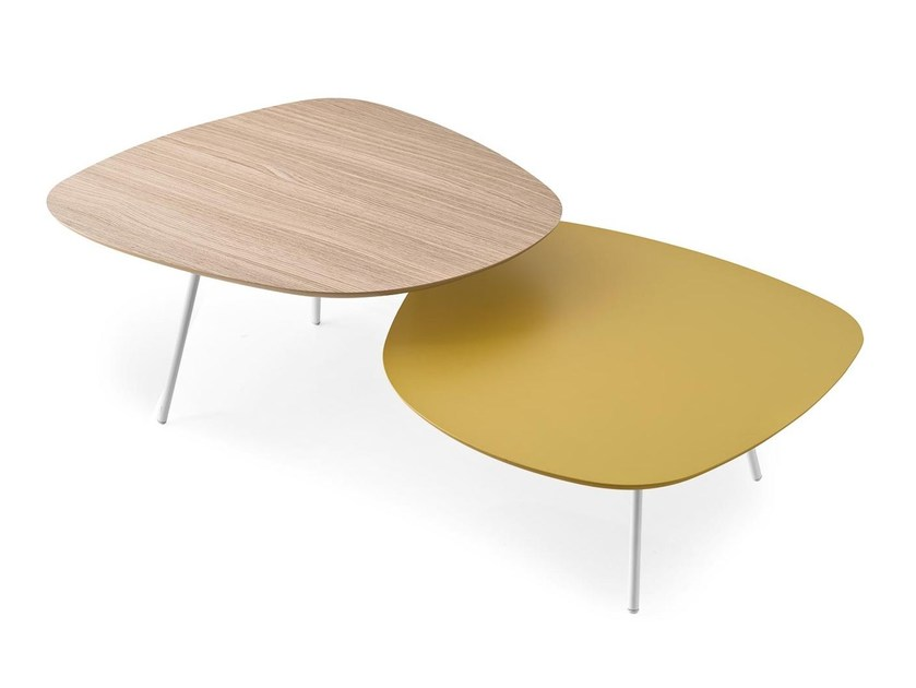 Coffee table for living room TWEET by Calligaris