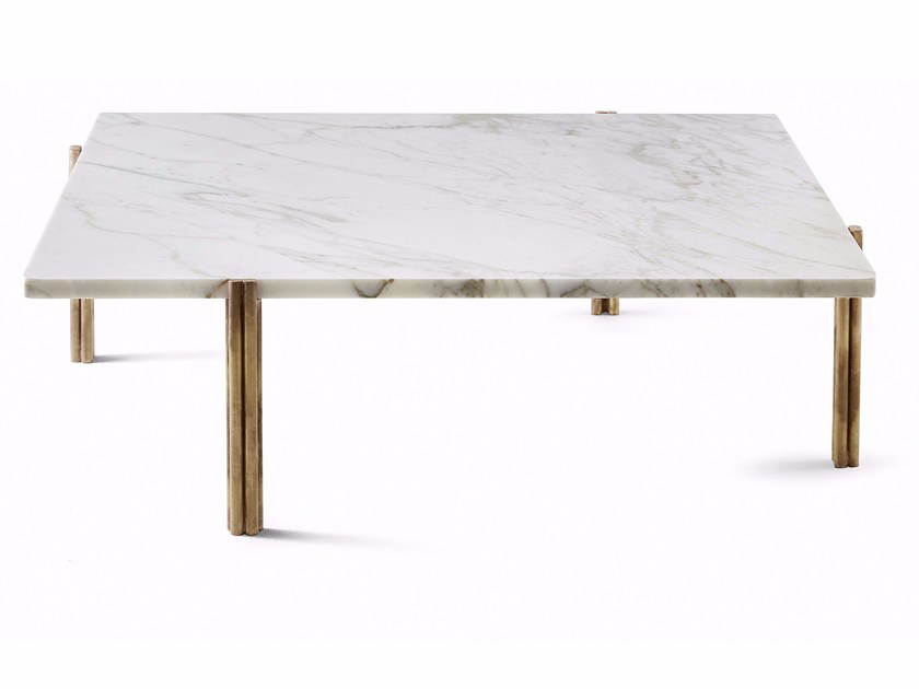 Square marble coffee table TWELVE | Square coffee table - Gallotti&Radice