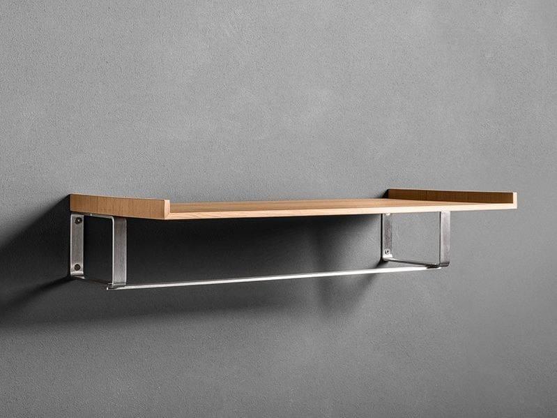 Wooden bathroom wall shelf TWENTY | Bathroom wall shelf - MAKRO