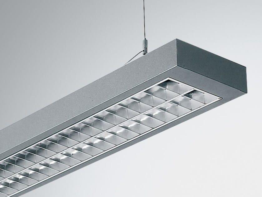 LED direct-indirect light pendant lamp TWIN 2 9860 PAR90 D-I LED by Metalmek