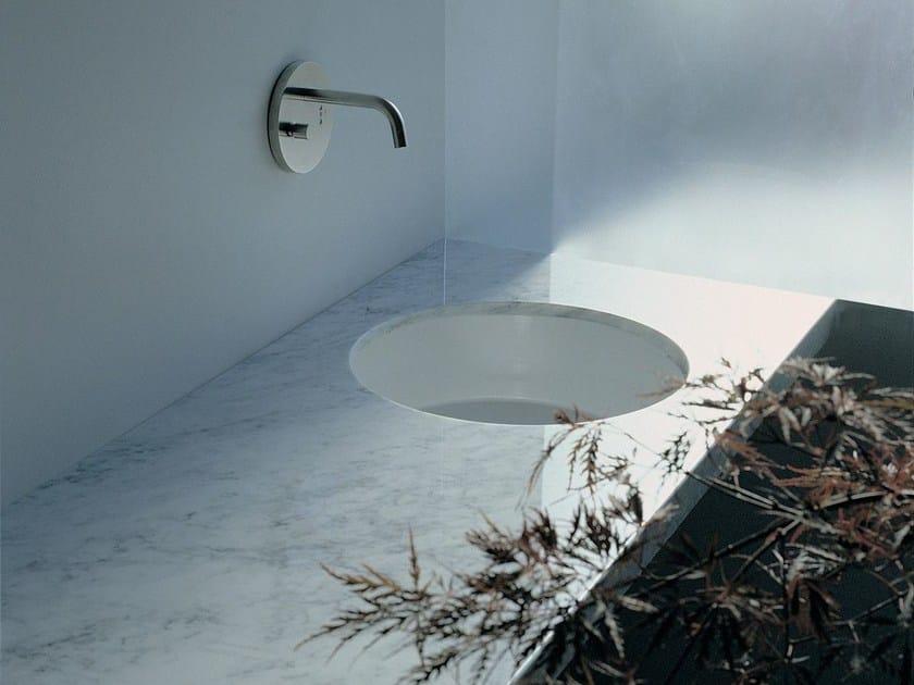 Undermount ceramic washbasin TWIN SET 42 | Undermount washbasin - CERAMICA FLAMINIA