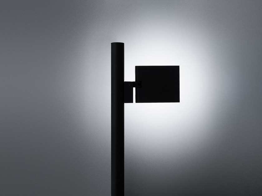 LED garden lamp post TWIST | Garden lamp post by SIMES