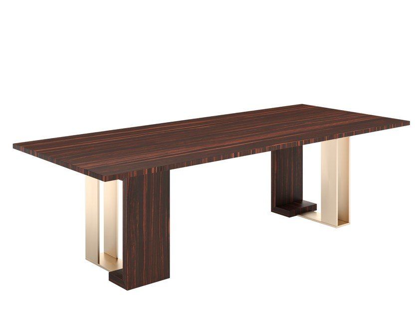 Rectangular wooden table TYCOON by Capital Collection