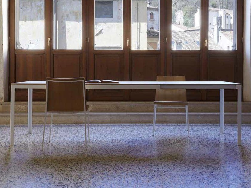 Extending rectangular table TYPE FOR OUT | Rectangular table - iCarraro italian makers