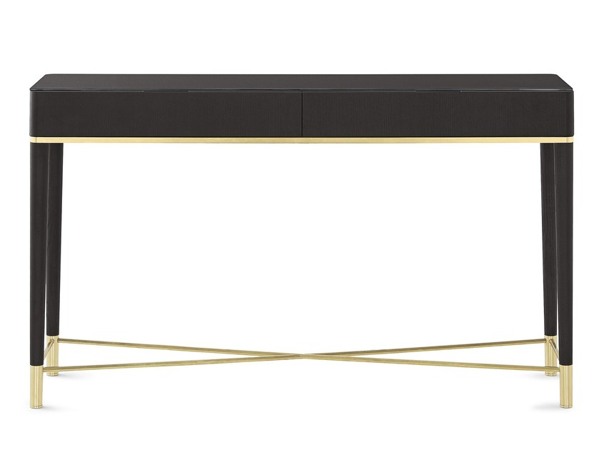 Rectangular wooden console table with drawers TAMA CONSOLE - Gallotti&Radice