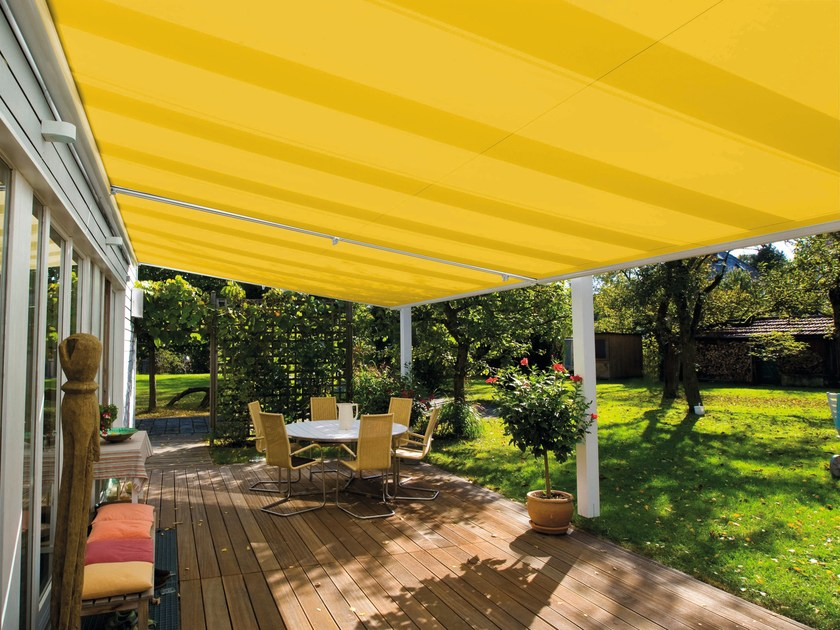 Motorized awning Roller blinds by Gardendreams